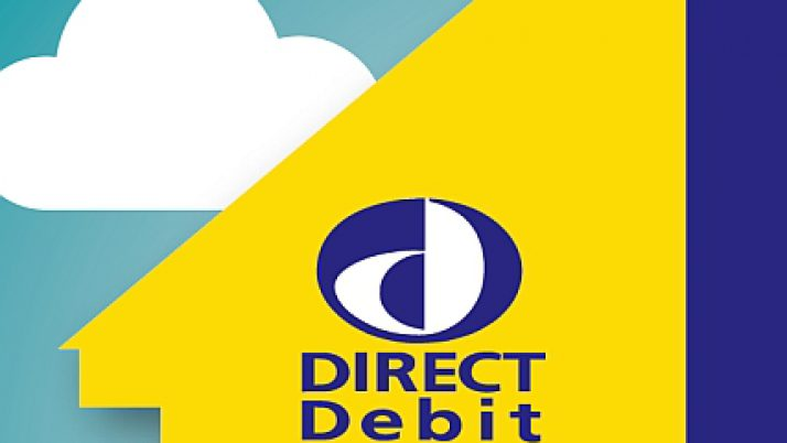 Payment by Direct Debit Now Available